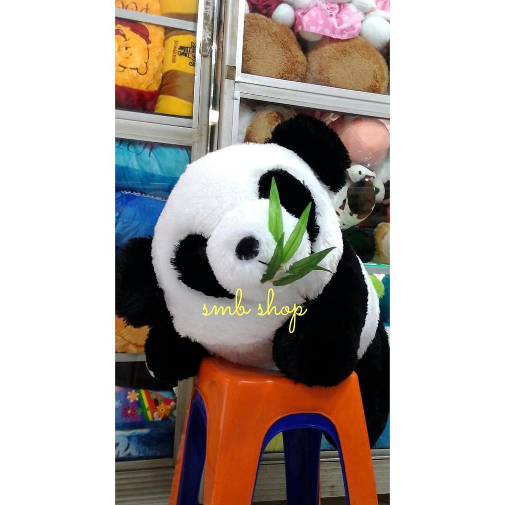 promo special!!! boneka anak panda gigit daun bambu sedang merangkak lucuu  free ongkir  1b38f8756d