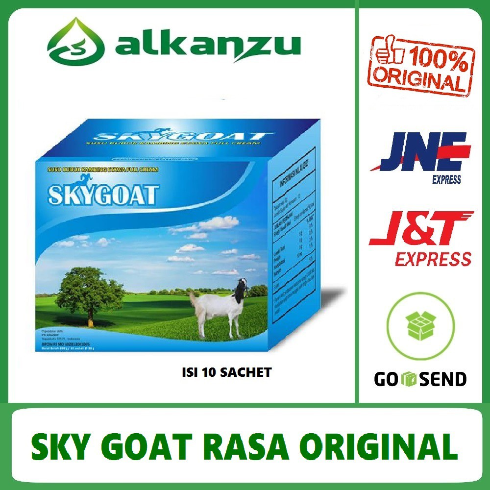 SKYGOAT Susu Kambing Etawa Bubuk SKYGOAT Harga PER BOX | Shopee Indonesia