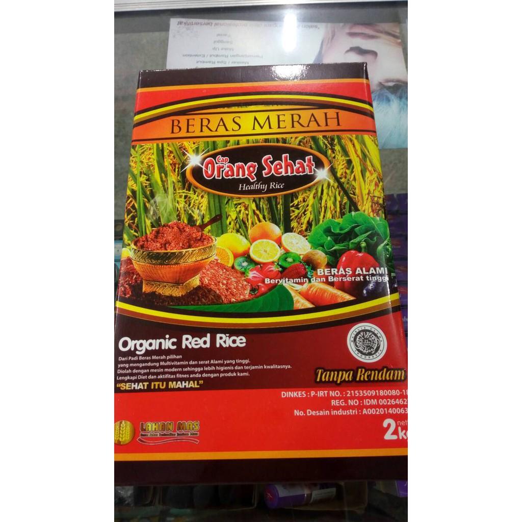 Martani Beras Merah Organic Low Carb 1kg Vacuum Pouch Shopee Indonesia Sorgum