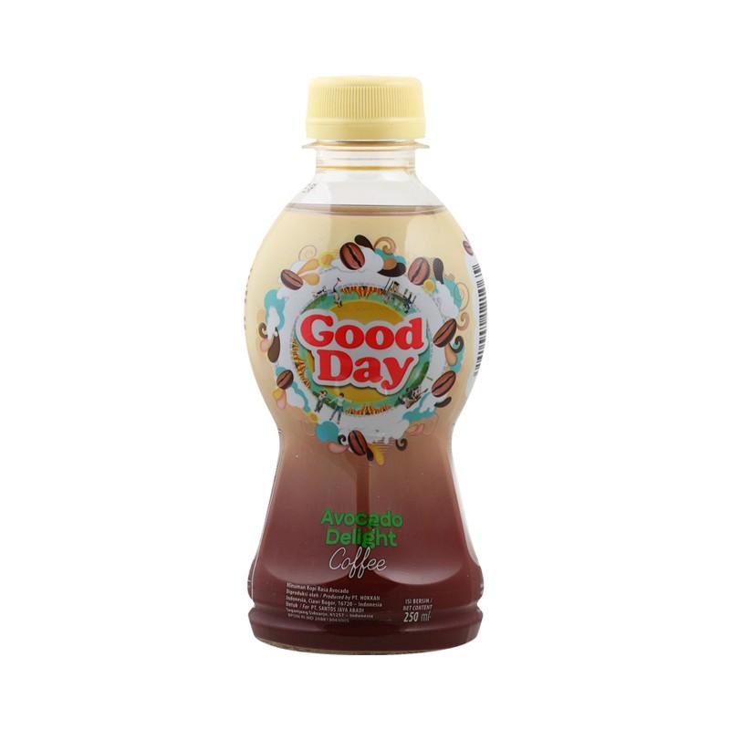 Pack Of 6 Good Day Kopi Pet Avocado Delight 250ml Shopee Indonesia