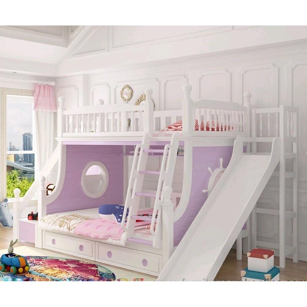 Tempat Tidur Anak Tingkat Prosotan Dipan Susun Perempuan Pink Shopee Indonesia Tempat tidur anak 2 tingkat