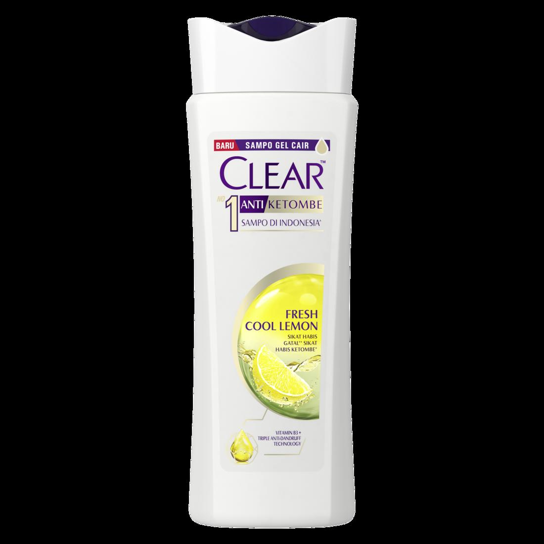 CLEAR Shampoo Anti Bacterial Fresh Cool Lemon 160 ml-2