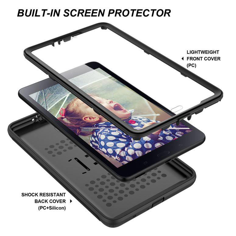 [Bayar di Tempat] Case Cover Stand Magnetik Print Embossed Bahan Kulit untuk iPAd Mini 4 | Shopee Indonesia