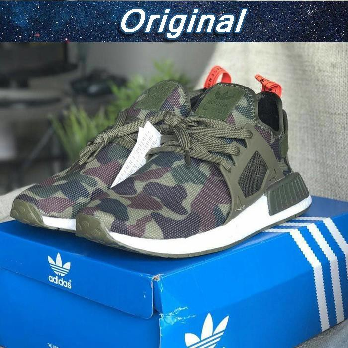 ef920bf4e6236 ADIDAS NMD XR1 Camo Green Army High Premium Original Sepatu Shoes ...