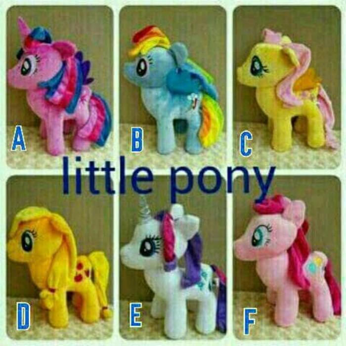 Boneka My Little Pony Ponny Kuda Poni Size M  90598e45d4