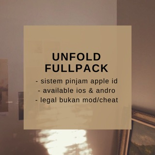 UNFOLD FULLPACK IOS + GRATIS TEZZA FULLPACK IOS