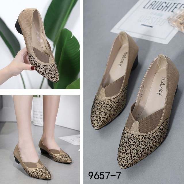 Wl9657 7 Sepatu Wanita Kelsey Iva Nova Luxury Heels Original