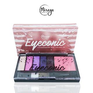 BUY 1 GET 2 Mireya Eyeconic 5 Eyeshadow And 1 Blush On 2
