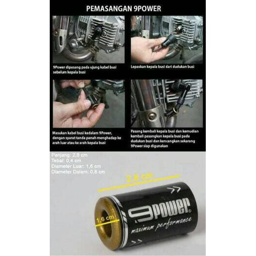 Nine power Booster penambah akselerasi tenaga motor, 9 power booster | Shopee Indonesia
