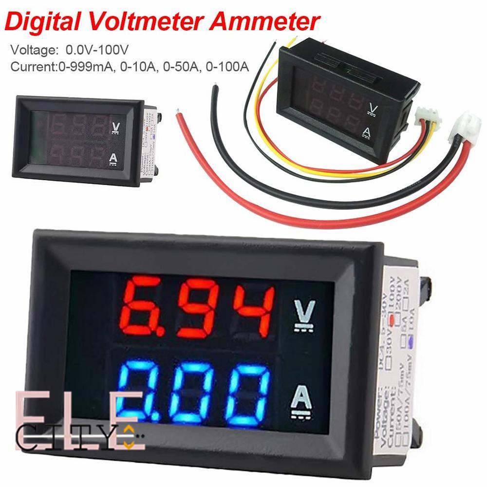 Harga Volt Meter Digital Terbaik Kelistrikan Elektronik Mei 2021 Shopee Indonesia