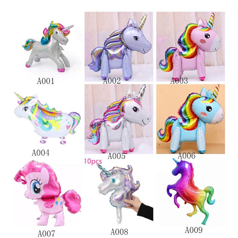 my little pony balloon rainbow unicorn party decoration