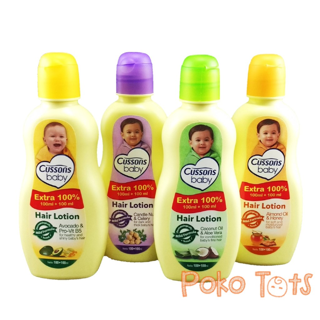 Cussons Hair Lotion 100 100ml Shopee Indonesia Baby Candlenut Oil Celery Ml