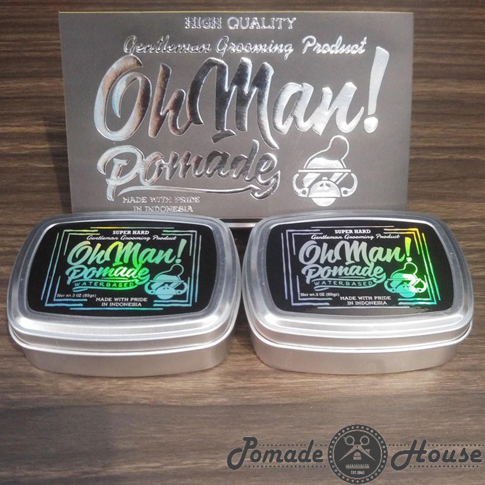 Fresh Pomade Oh Man Water Based Waterbased Mystic Grey Free Nutri Blue Divine Sisir Unbreakabl Unbreakable Shopee Indonesia