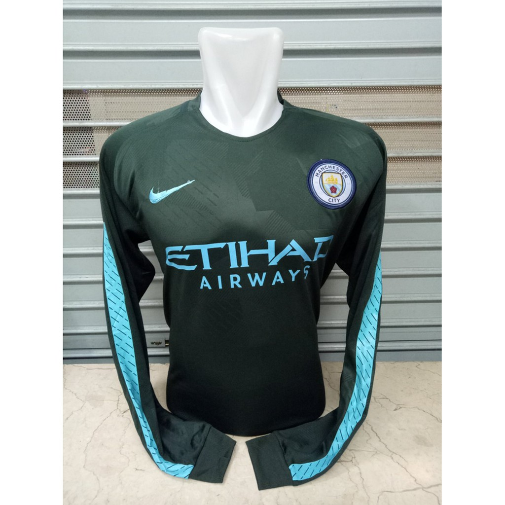 Terbaru Man City 3rd 17 18 Player Issue Shopee Indonesia Jersey Retro Manchester United Third 2002 2003 Full Patch Ucl Nama Pemain Font