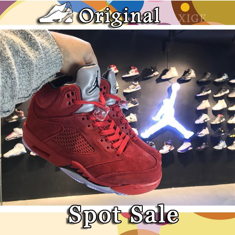 Sepatu Basket Model Air Jordan 5 Jordan untuk Pria  492932721d
