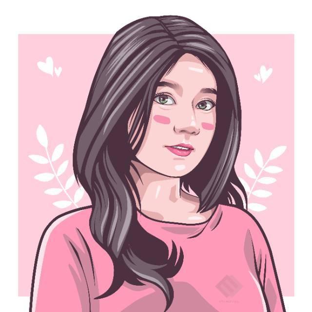 Frame Cetak 10r Foto Kartun Karikatur Hadiah Anniversary Kado Unik Hadiah Ultah Hadiah Pacar Shopee Indonesia