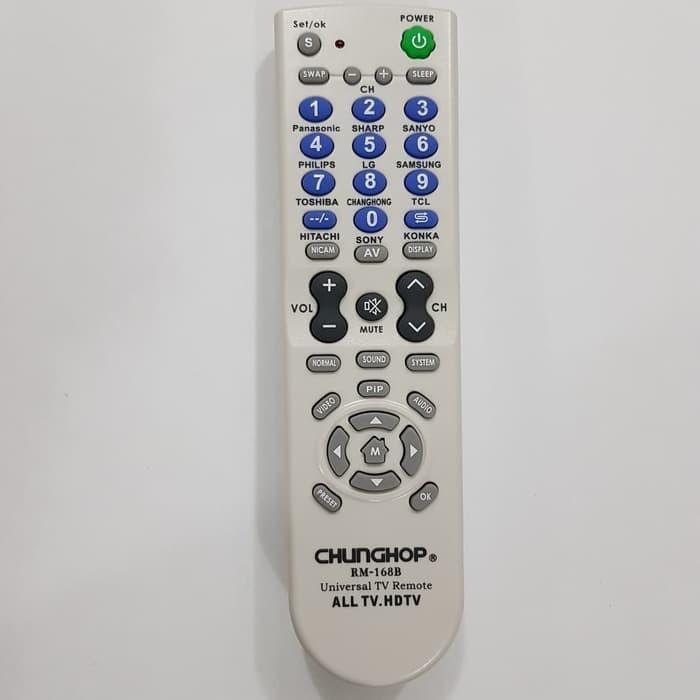 GF-36 Chunghop RM-168B Remote Serba-bisa - Universal - Remot Multi TV