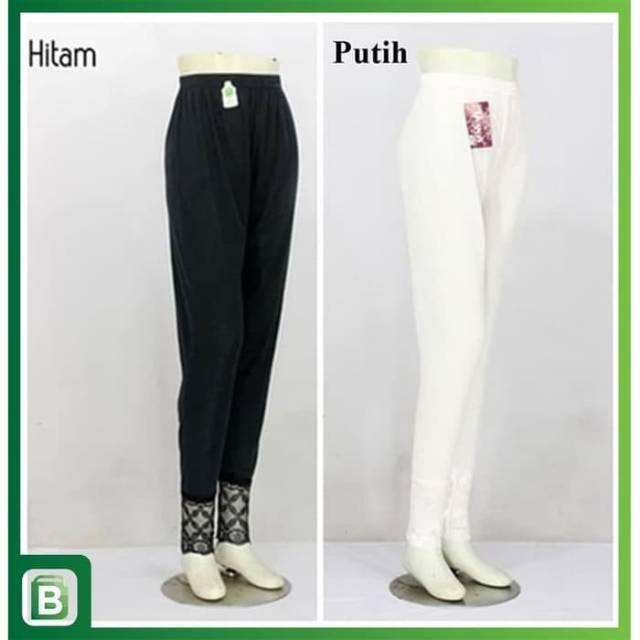 Celana Legging Renda Putih Dan Hitam Shopee Indonesia