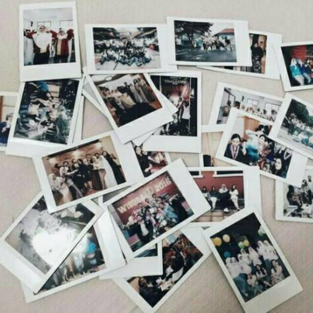 Cetak Foto Ala Polaroid Ukuran Besar Promo Shopee Indonesia