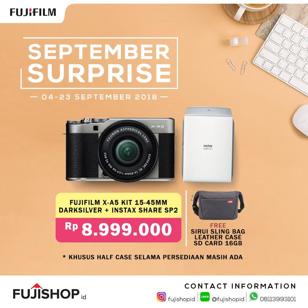 Fujifilm X A3 Kit Xc 16 50mm Instax Mini 8 Sd 16gb Pink E1 Lensa 18 55mm F 28 4 R Lm Ois Paket Lengkap Shopee Indonesia
