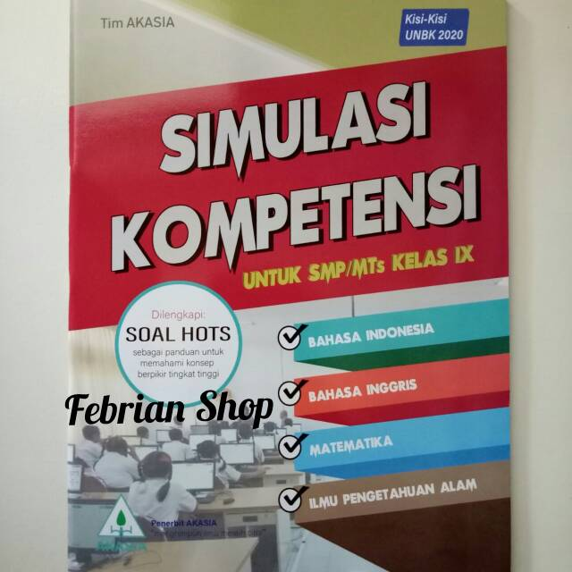 Kisi Kisi Soal Unbk Smp 2021 Bahasa Indonesia Ilmusosial Id