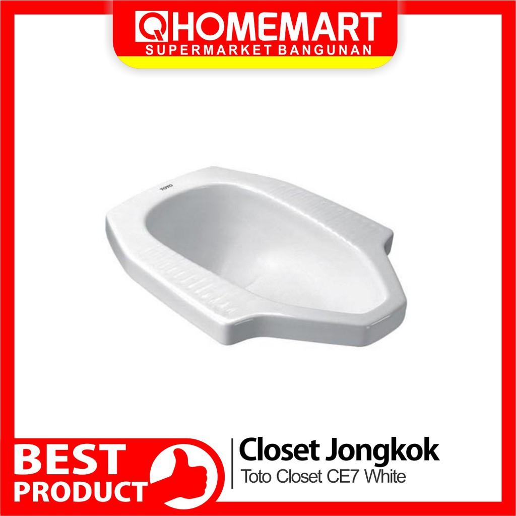 Toto Closet Jongkok Ce7 White Shopee Indonesia Harga closet jongkok toto