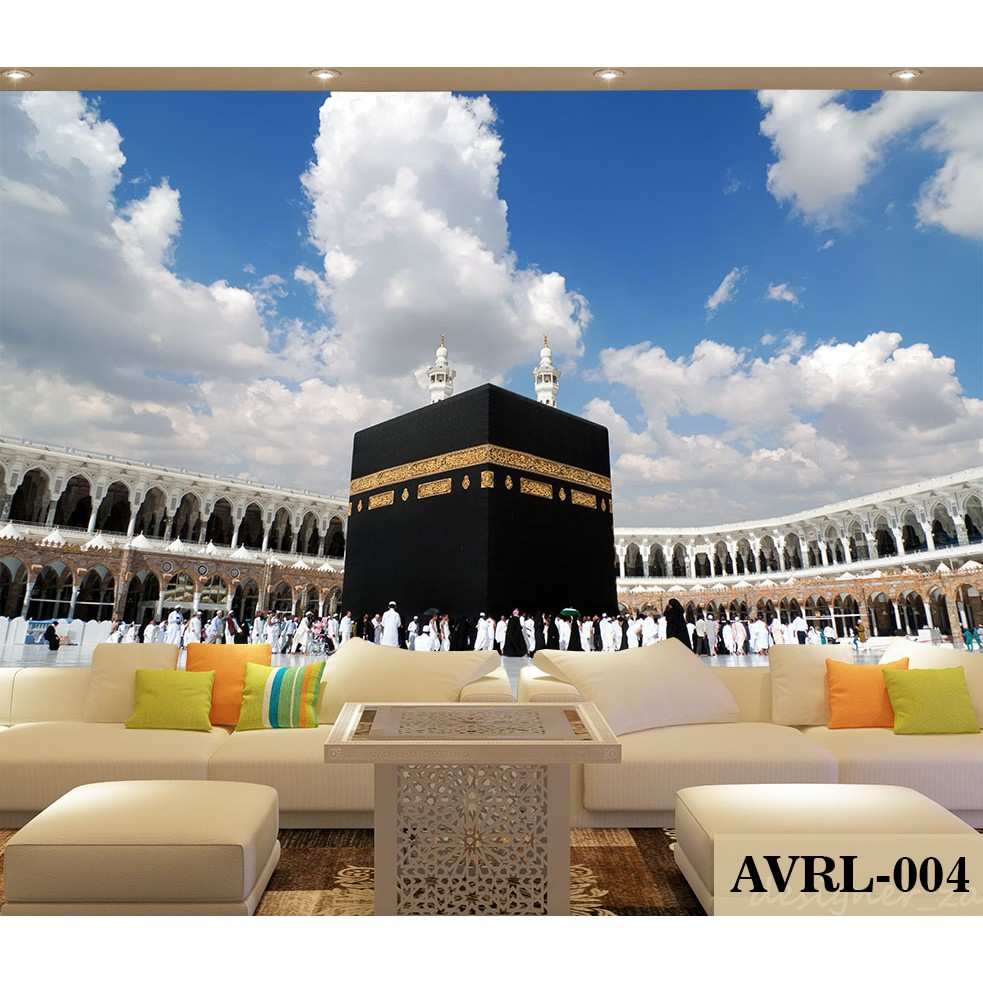 Wallpaper Custom Mekkah Wallpaper Dinding Custom Religi