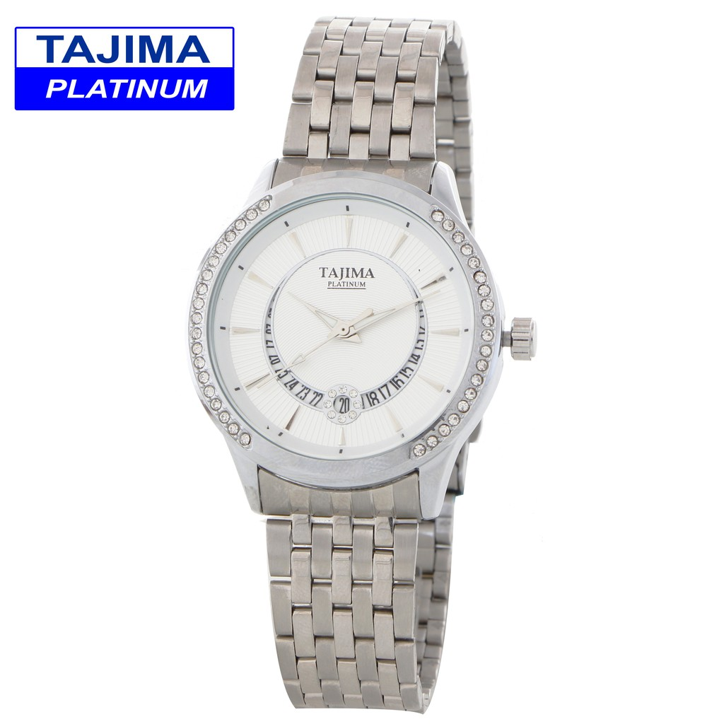 Toko Online Tajima Official Shop Shopee Indonesia Analog Watch 3813 Date Garansi 1 Tahun Jam Tangan Pria Ampamp Wanita