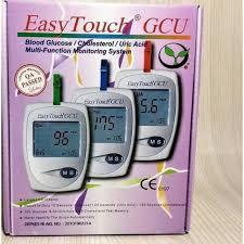easy touch GCU/alat tes gula darah/alat tes kolestrol/alat tes asam urat/alat tes darah/