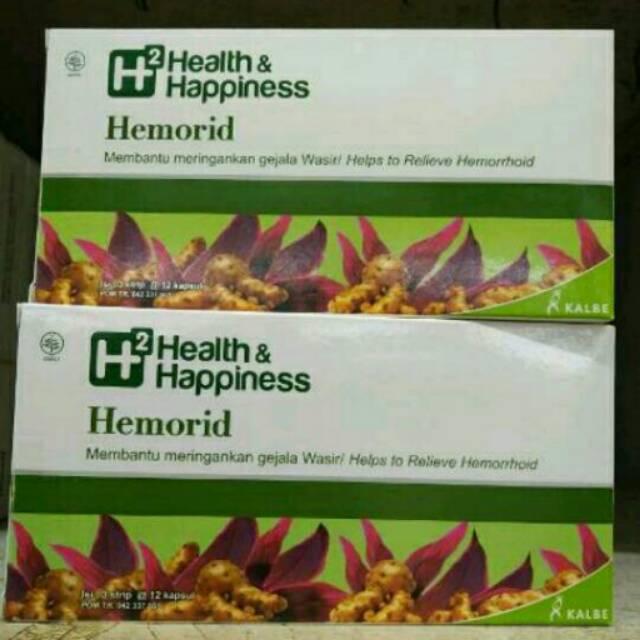 H2 Health Happiness Hemorid Obat Wasir Isi 36 Kapsul Shopee Indonesia