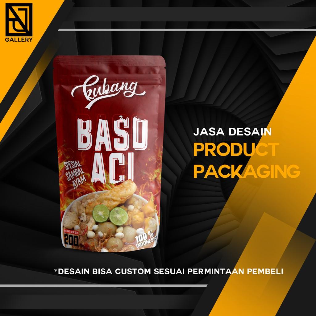 JASA DESAIN KEMASAN / PACKAGING PRODUCT / STANDING POUCH / CUSTOM ORDER