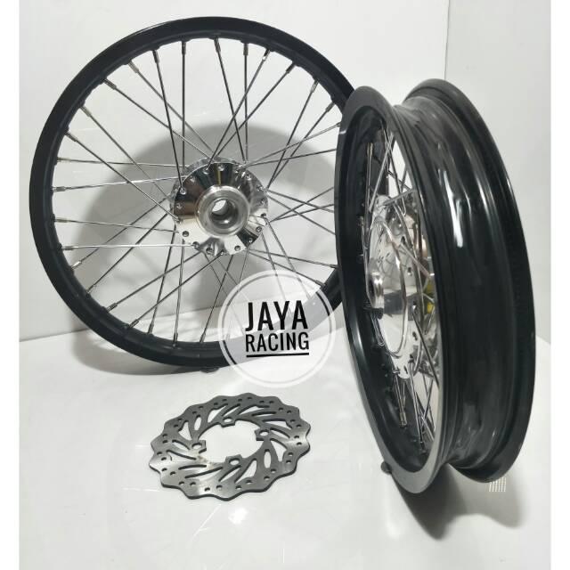 Sepaket Velg Ring 14 17 Matic Model Klx Beat Street Paket Komplit Ready Untuk All Matic