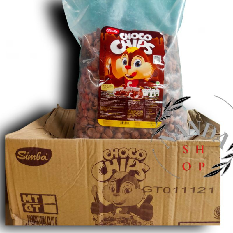 Simba choco chips, 1kg/2kg/ repack 500gram/250gram