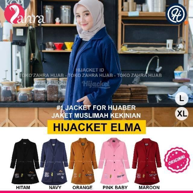Hijacket AVIA - jaket muslimah hijaket terbaru original  0508d54a55