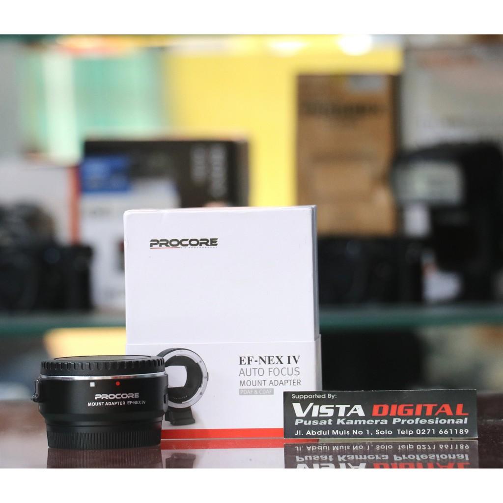 Canon Mount Adapter Ef Eos M Original Datascrip Procore Lens To Nex Camera Iv Auto Focus Shopee Indonesia