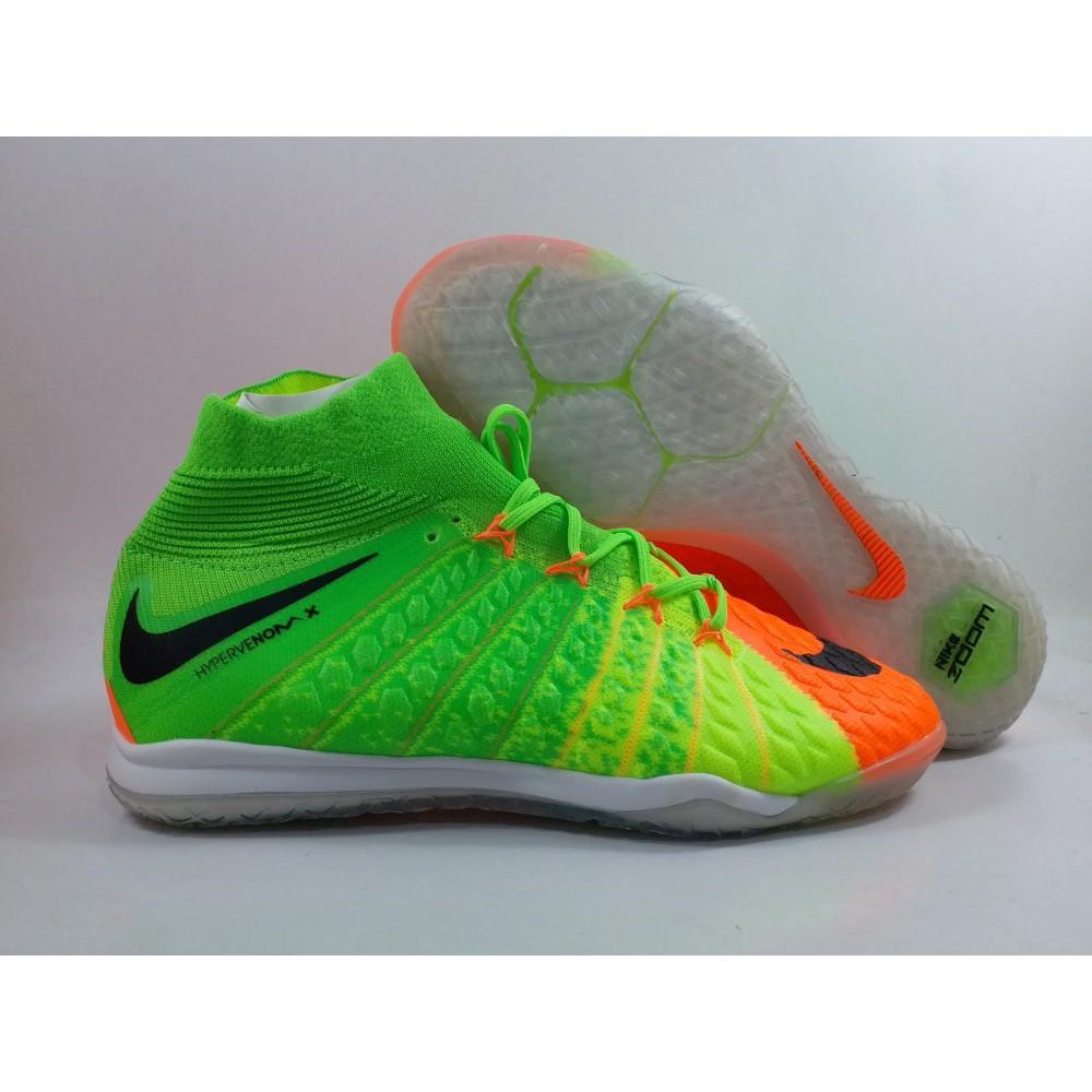 5072e8973a39c Sepatu FUtsal Nike Hypervenom X Proximo II Green IC Replika Impor | Shopee  Indonesia