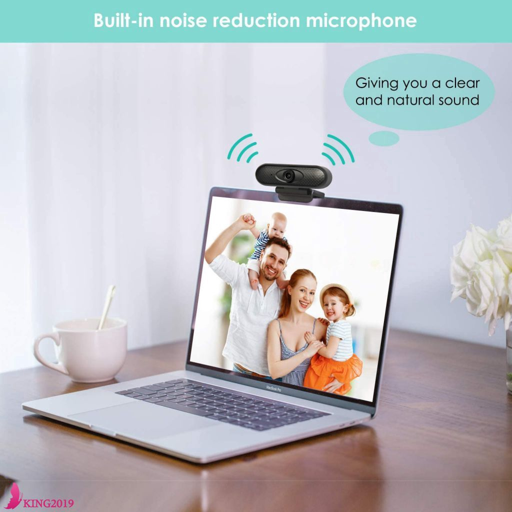 Webcam Camera Usb Webcam with Microphone Full HD 1080P Widescreen Video Calling and Recording for Streaming Laptop and Desktop