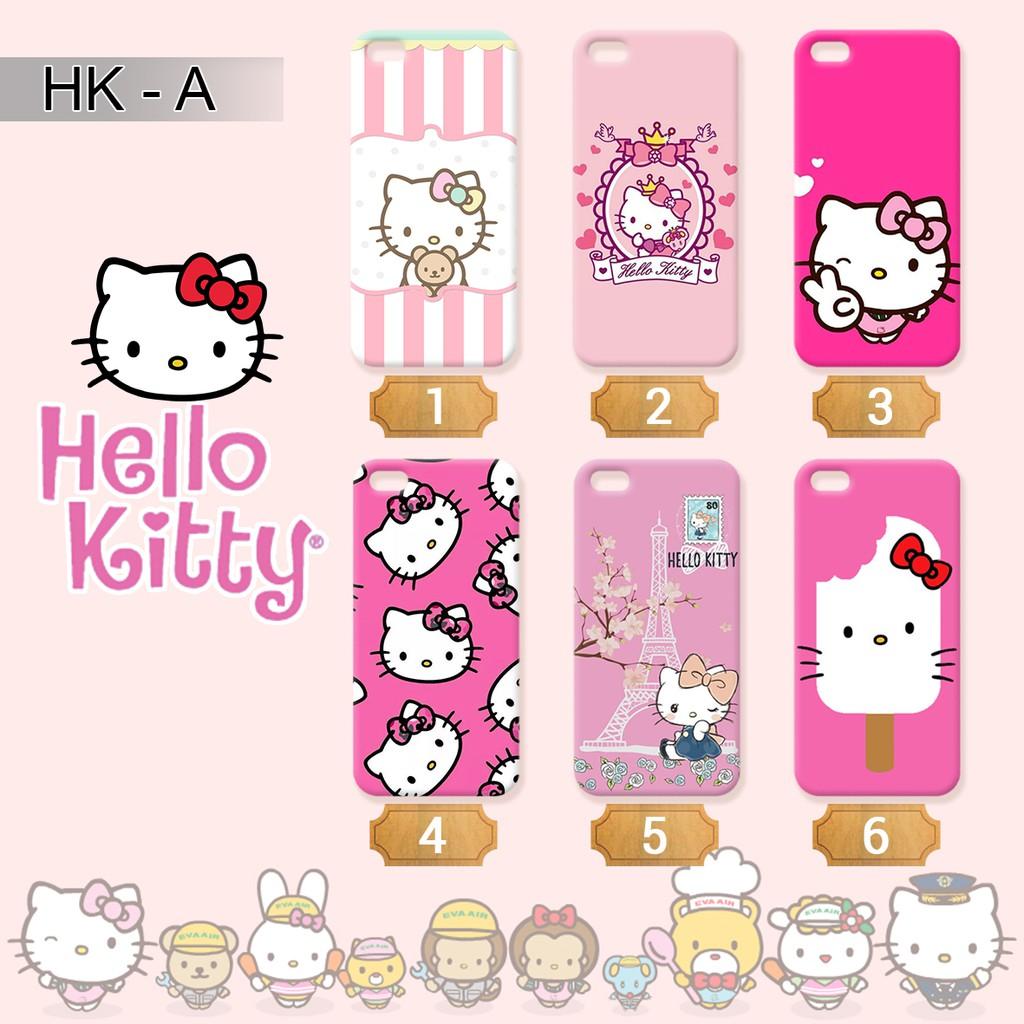 Custom Case Hello Kitty Lucu Imut Cute Softcase Hardcase Fullprint