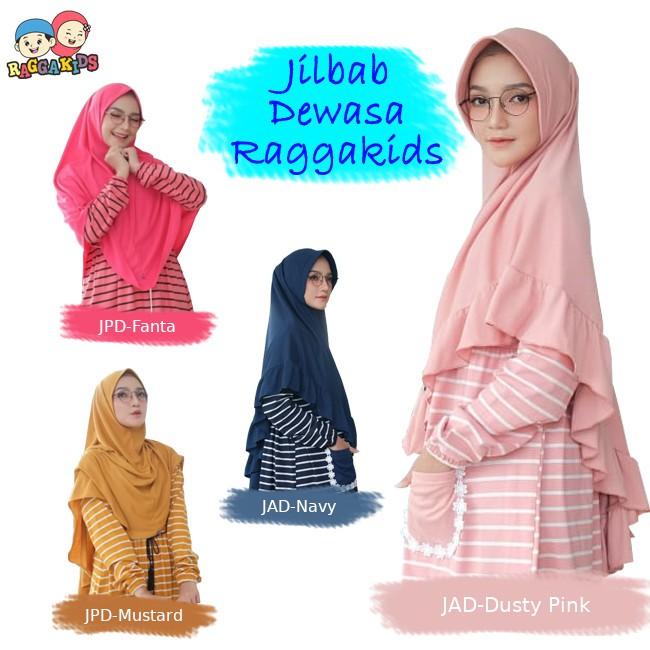 Jilbab Kaos Instant Dewasa by Raggakids