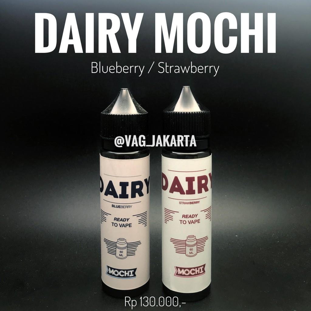 Liquid Dairy Strawberry Mochi By Rayvapor 60ml Nic 3mg Vape Vapor Iceberg Citrus Snow Hex Rasa Lemon Dan Orange Vaping  Premium Murah Shopee Indonesia