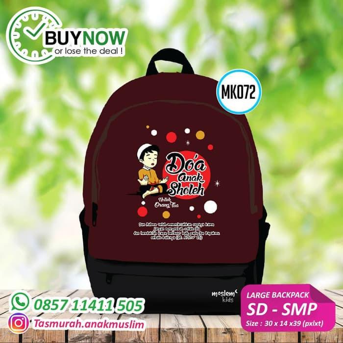 Backpack Large & Small / Tas Anak Muslim / MOSLEM KIDS | Shopee Indonesia