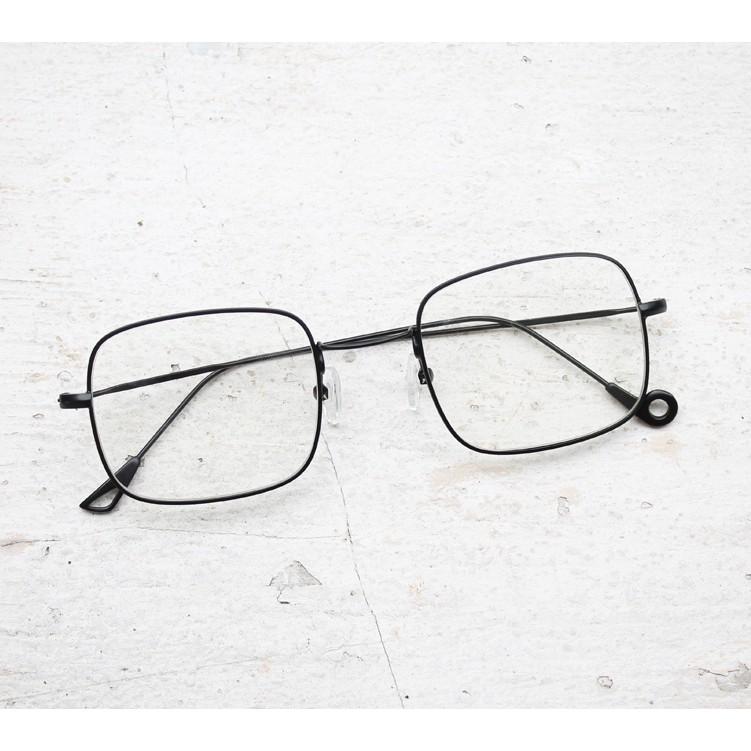 Frame Kacamata Minus Anti Radiasi Fashion Nissa Sabyan Simple Square Pria  Wanita da6c559392