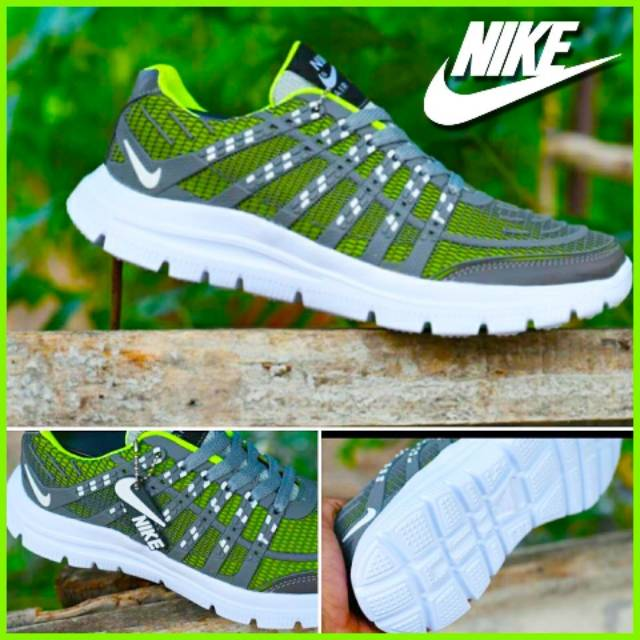 Sepatu nike airmax   air max sepatu sneakers pria bahan karet bisa melar  dan ringan  868681734a