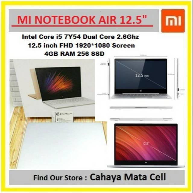 Xiaomi Mi Notebook Air 12.5 inch 4GB / 256GB i5-7Y54 Win 10 Single Language
