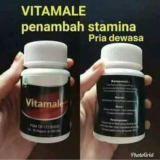 Vitamale Asli Hwi Bpom Isi 30 Capsules Obat Pasutri Khusus Untuk