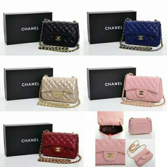 8f34ee7d1cb7 Chanel classic mini 1115 | Shopee Indonesia