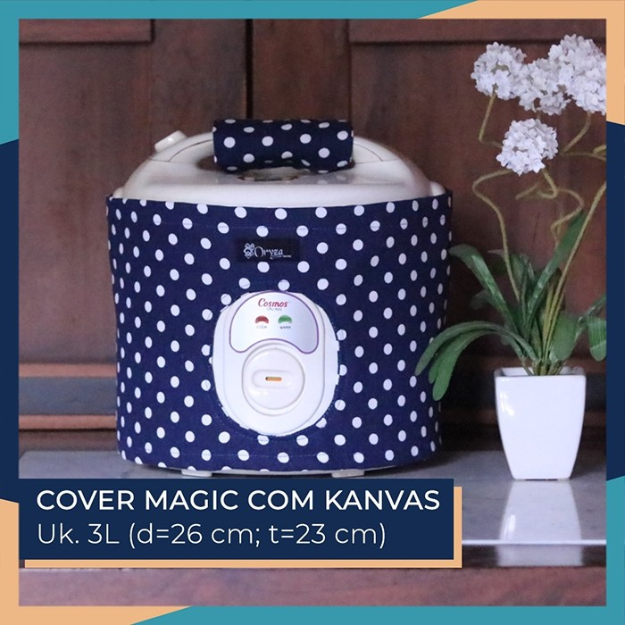 Cover Magic Com 3L (+Handle) / Cover Rice Cooker - Motif Black Mexican | Shopee Indonesia