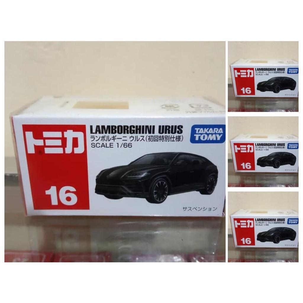 Lamborghini Urus Tomica Reguler No 16 Diecast Mobil Sport Harga Murah Shopee Indonesia