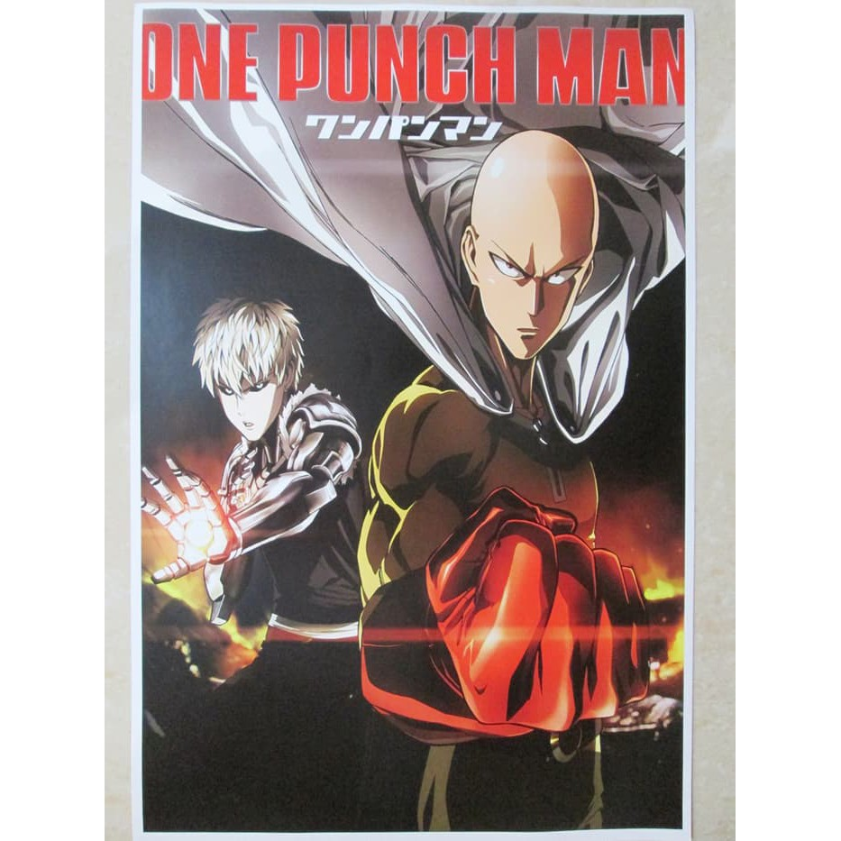 Poster One Punch Man 1 Shopee Indonesia