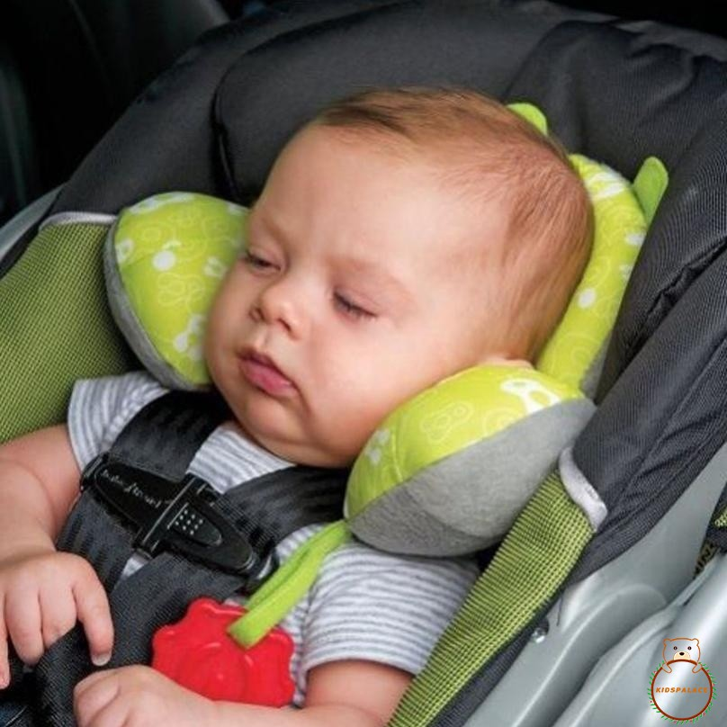 Car Seat Pillow >> Iid Baby Child Head Neck Support Headrest Travel Car Seat Pillow Cushion Buckle